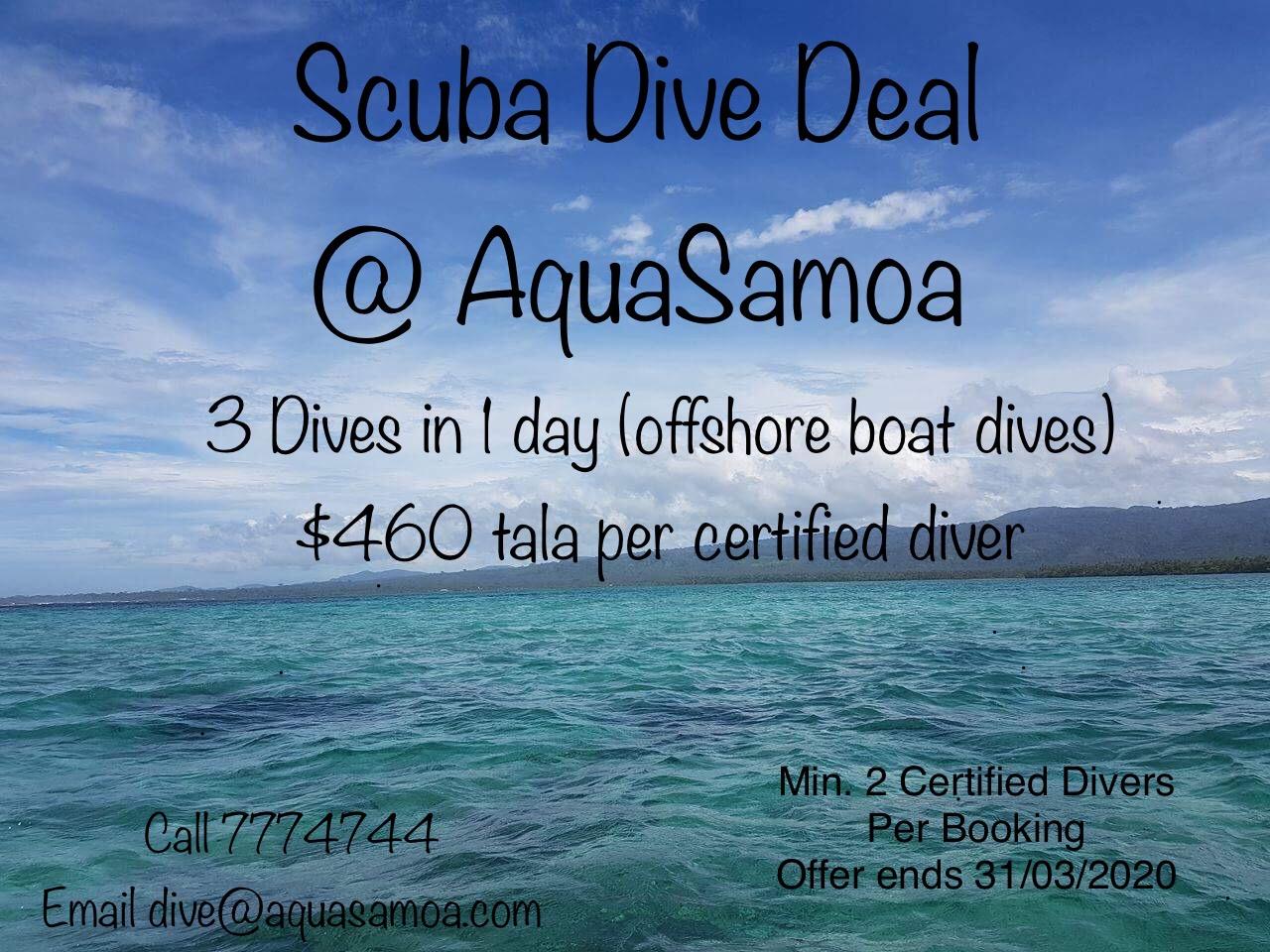 Dive deal